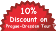 10% Discount on Prague-Dresden Tour